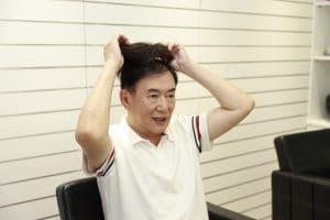 禿頭掰掰!智慧增量男性假髮拯救您的禿頭髮型